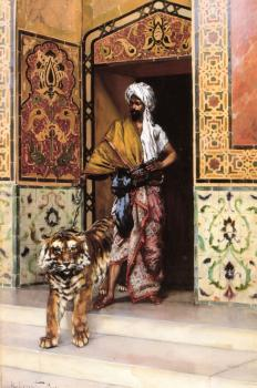 Rudolf Ernst : The Pasha's Favorite Tiger