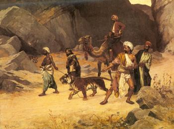 Rudolf Ernst : The Tiger Hunt