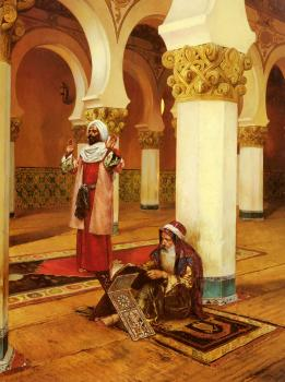 Rudolf Ernst : Evening Prayer
