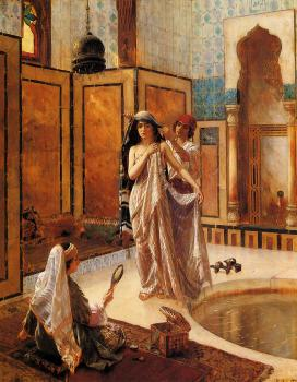Rudolf Ernst : The Harem Bath
