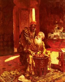 Rudolf Ernst : The Money Changer
