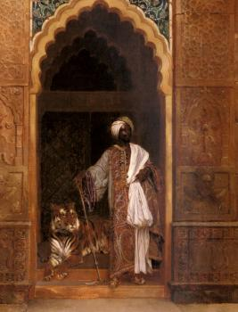 Rudolf Ernst : The Palace Guard