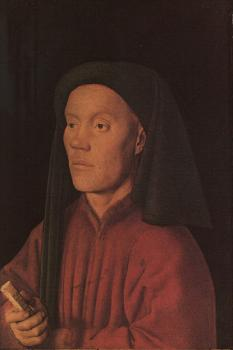 Jan Van Eyck : Portrait of a Young Man Tymotheos