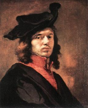 Carel Fabritius : Self-Portrait