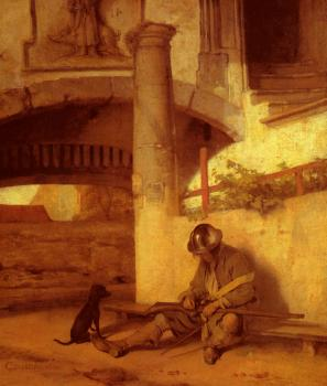 Carel Fabritius : The Sentry