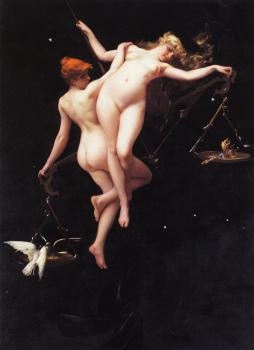 Luis Ricardo Falero : The Balance of the Zodiac