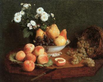 Henri Fantin-Latour : Flowers and Fruit