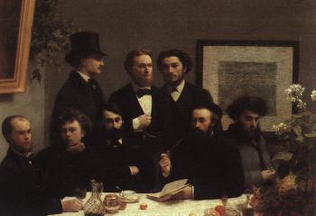 Henri Fantin-Latour : The Corner of the Table