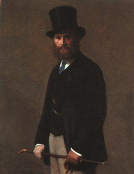 Portrait of Edouard Manet