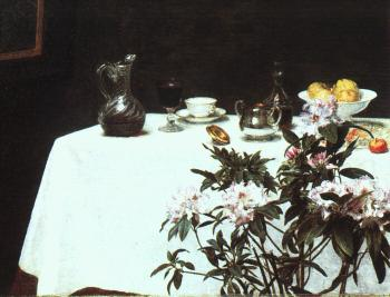 Henri Fantin-Latour : The Corner of a Table
