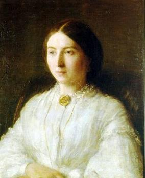 Henri Fantin-Latour : Portrait of Ruth Edwards