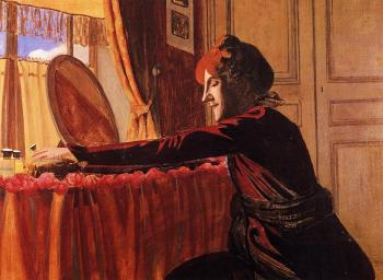 Madame Felix Vallotton at Her Dressing Table