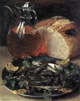 George Flegel : Still-life with Fish