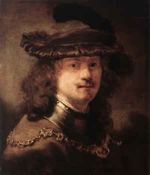 Govert Teunisz Flinck : Portrait of Rembrandt