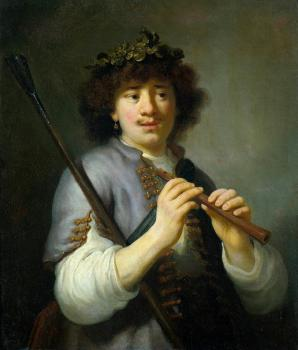 Govert Teunisz Flinck : Rembrandt as Shepherd