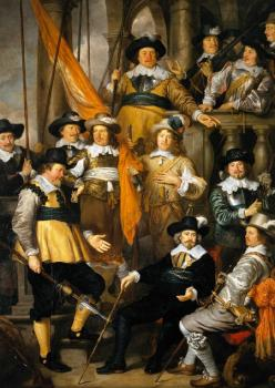 Govert Teunisz Flinck : Company of Captain Albert Bas and Lieutenant Lucas Conijn