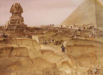 Sir William Russell Flint : Souvenir of Egypt