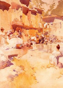 Sir William Russell Flint : Violet Shades