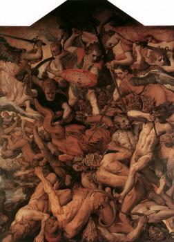 Frans Floris : The Fall of the Rebellious Angels