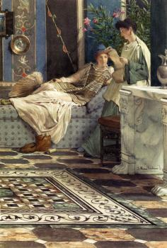 Ford Madox Brown : Alma Tadema Sir Lawrence From An Absent One