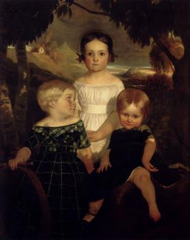 Ford Madox Brown : The Bromley Children