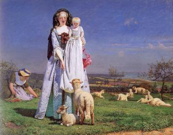 Ford Madox Brown : The Pretty Baa Lambs