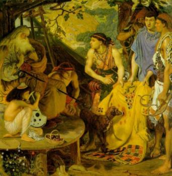 Ford Madox Brown : The Coat of Many Colors