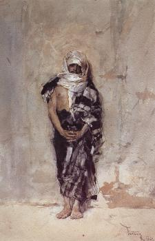 Mariano Fortuny : Moroccan Man