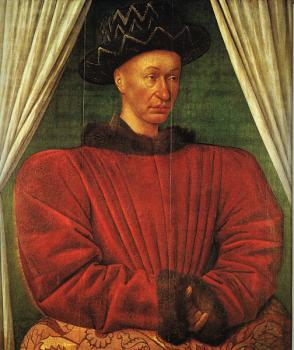 NPortrait of Charles VII of France