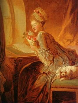 Jean-Honore Fragonard : The Love Letter
