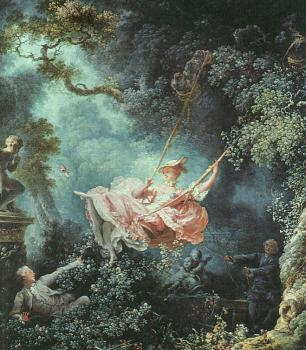 Jean-Honore Fragonard : The Swing
