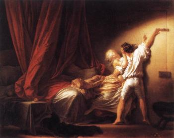 Jean-Honore Fragonard : The Bolt