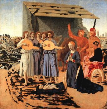 Piero Della Francesca : Nativity