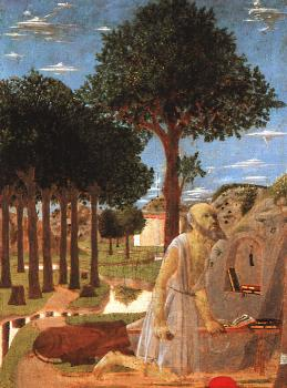 Piero Della Francesca : The Penance of St Jerome