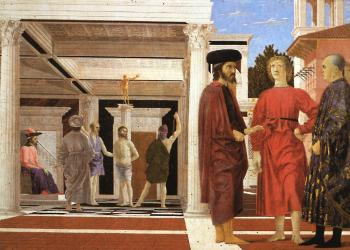 Piero Della Francesca : The Flagellation