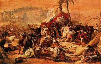Francesco Hayez : The Seventh Crusade against Jerusalem