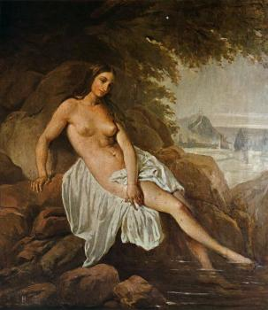Francesco Hayez : Bather