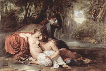 Francesco Hayez : Rinaldo and Armida