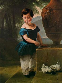 Portrait of Don Giulio Vigoni as a Child
