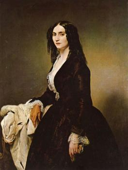 Francesco Hayez : Portrait of Matilde Juva-Branca