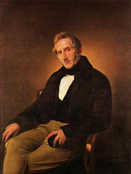 Francesco Hayez : Portrait of Alessandro Manzoni