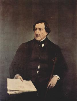 Francesco Hayez : Portrait of Gioacchino Rossini