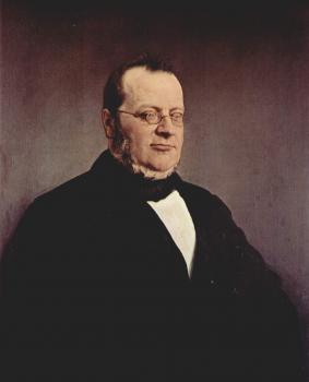 Francesco Hayez : Portrait of Camillo Benso di Cavour
