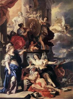 Francesco Solimena : Allegory Of Reign