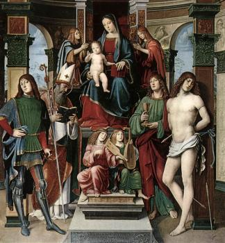 Francesco Francia : Madonna and Saints