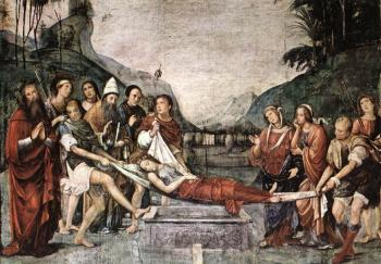 Francesco Francia : The Burial of St Cecily