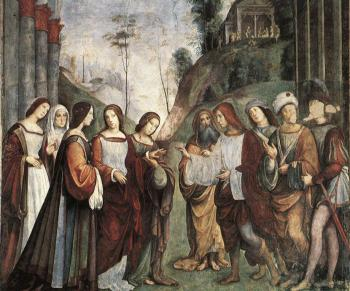Francesco Francia : The Marriage of St Cecily