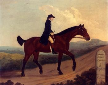 Francis Sartorius : Horseman On The Road To Bagshot