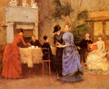 Francisco Miralles Galup : Afternoon Tea
