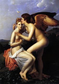 Francois Gerard : Cupid And Psyche